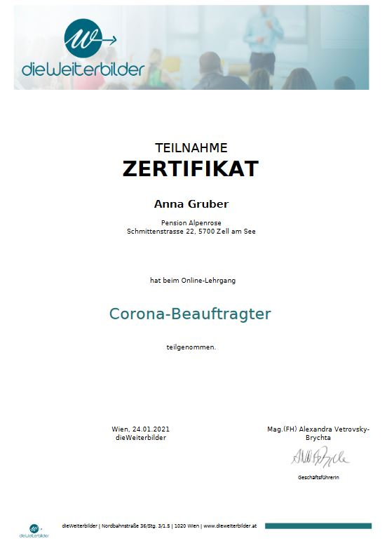 Corona-Beauftragter