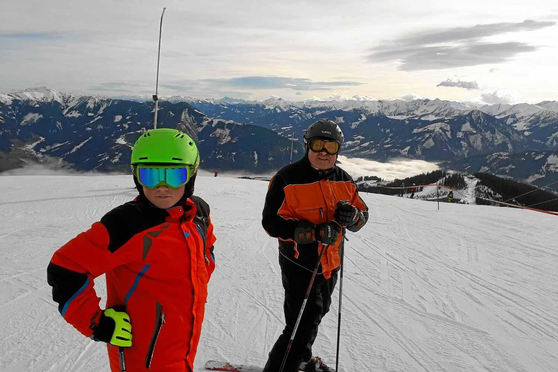 Familie Schitag auf der Schmittenhöhe