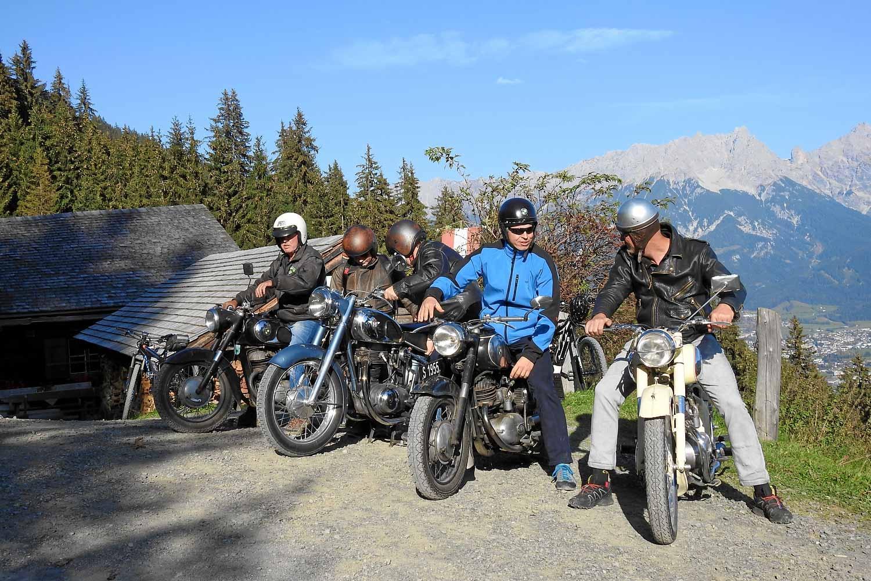 Motorrad Nostalgiker on tour