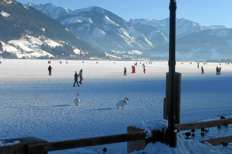 Eis am Zeller See