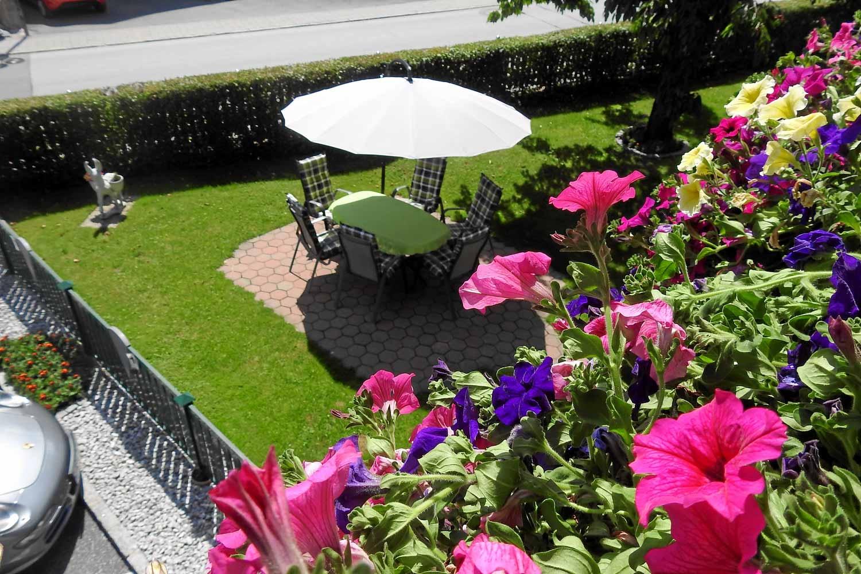 Pension Alpenrose Garten
