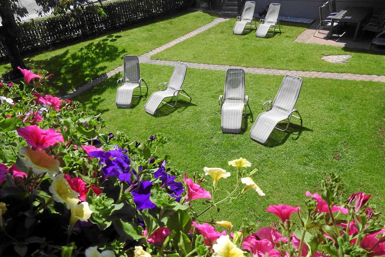 alpenrose-pension-Garten